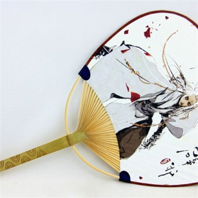 100% Natural bamboo high quality craft bamboo fan