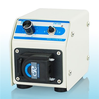 Small Precision Peristaltic Pump With Flowrate 0-36 Ml/min ZW100/BW100
