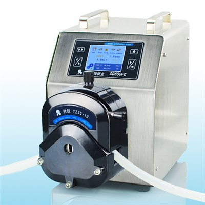 Peristaltic Pump Bottle Filler SG600FC 0-12000 Ml/min