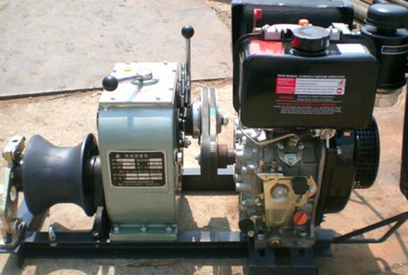 low price Cable pulling winch, new type Powered Winches,Cable Winch