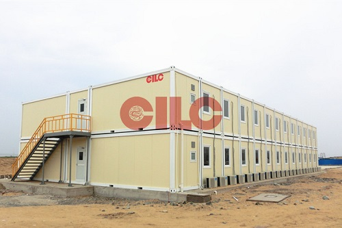 prefab construction house for two storey building