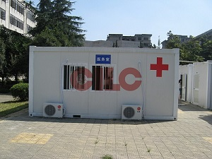 Modular Container for mobile Clinic and Hospital