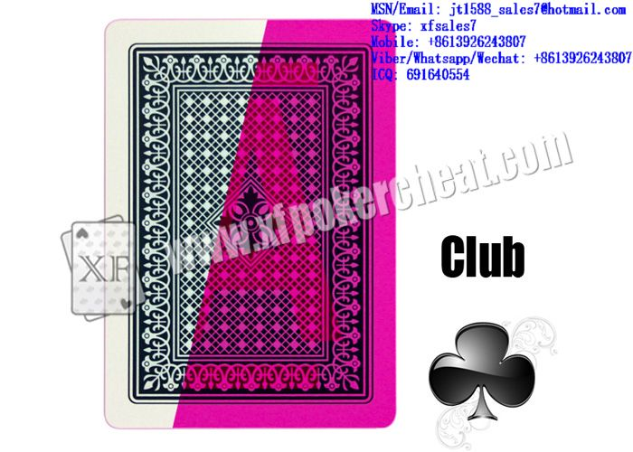 XF Fournier DE LUXE Plastic Playing Cards With Invisible Ink Markings For Poker Predictors And Invisible Lenses