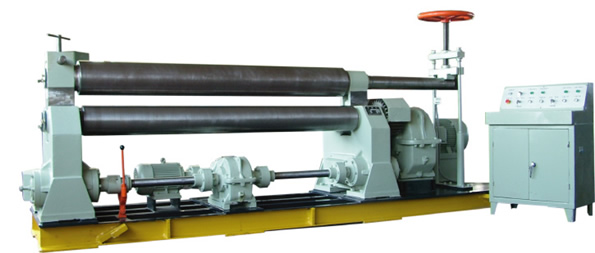W11 Series symmetric three-Roller plate Coiling Machine