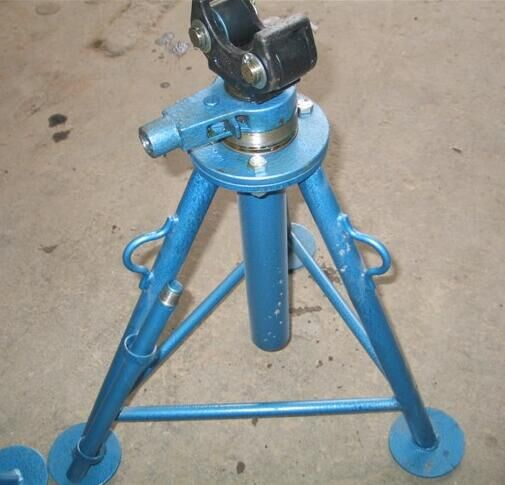 Mechanic cable drum jack drum jack braked drum stand