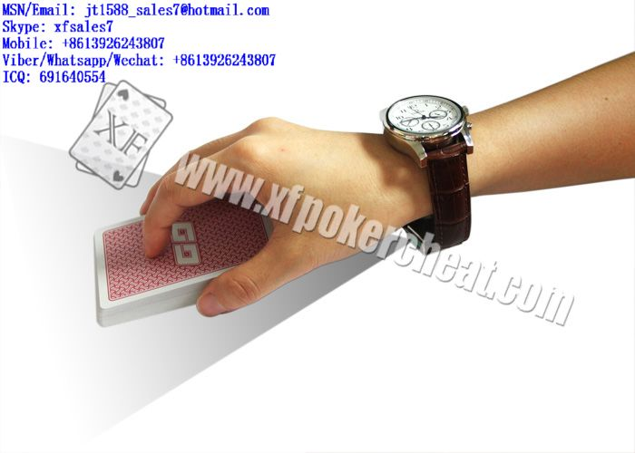 XF Omega Watch Camera For Scanning Bar-Codes Marked Cards For Poker Analyzer