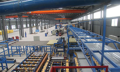 PUR, PIR (Polyurethane), Rock wool,mineral wool,glass wool Sandwich Panel Product Line