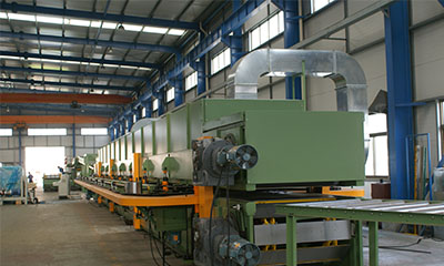 double belt laminating machine caterpillar press