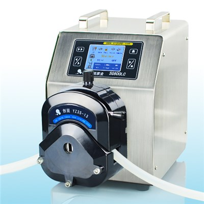 Servo Motor Pump With High Accuracy Peristaltic Pumps SG600LC 0-12000 Ml/min