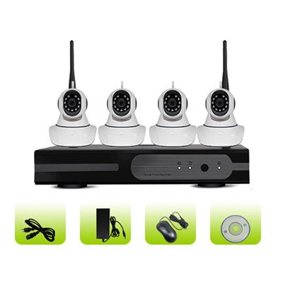 SK04W-10RM Home Security Full Hd Video Real Time Recording Smart Wifi Dome Camera 1080p Nvr Kit