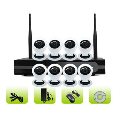 SK08W-10CB Support App Remote Control Smart Home 3g Network Surveillance System