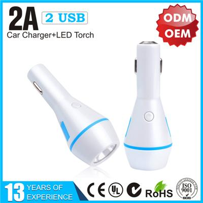 YLCC-228 LED torch car charger