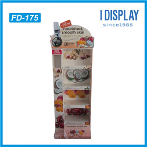China Manufacturer Designer Cardboard Counter Displays Top For Cookies