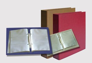 office file folder and name card holder