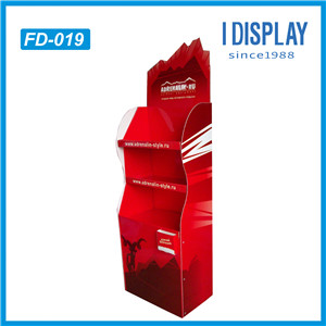 China Manufacturer Point Of Sale Pos Cardboard Display Shelf For Beverage And Foods