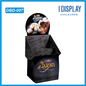 High Quality Supermarket Promotional Cardboard Dump Bins Rack For Retail