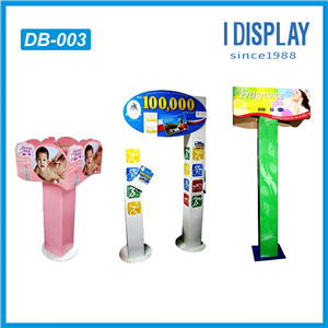 Cardboard Point Of Purchase Totem Display Standee With Custom Logo