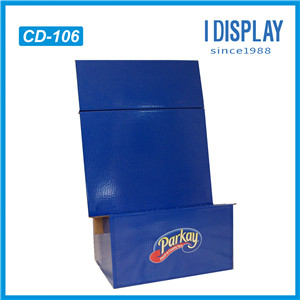 A4 Or A5 Cardboard Brochure Holder For Retailing Stores