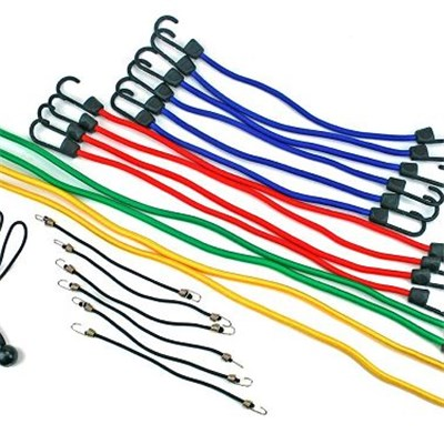 24PC Standard Bungee Assortment