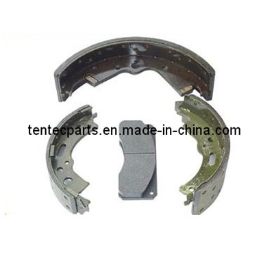 VOLKSWAGEN SEMI METALLIC BRAKE SHOE
