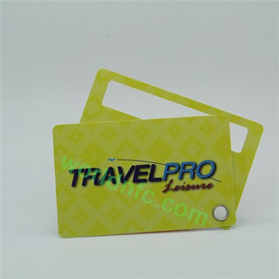 OEM Service Offered Luggage Tag Key Tag, Plastic Card Keychain