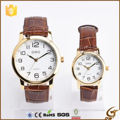 Pu Leather Strap Quartz Watches