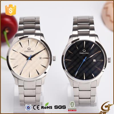 Sapphire Crystal Lens Steel Men Watch