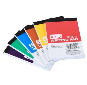 Standard Size Of Full Printing Notepad With Cover