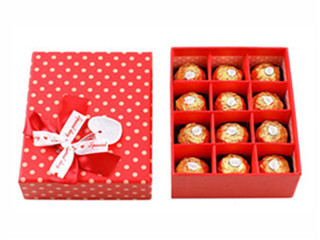 Most Popular Custom Chocolate Package Rectangle Gift Box