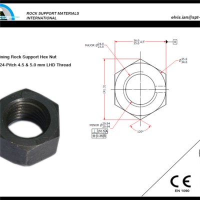 Hex Steel High Nut