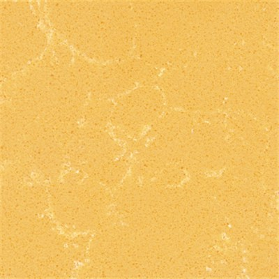 SS6440 Spring Yellow Fashion Modern Quartz Tops Stone Building Materials