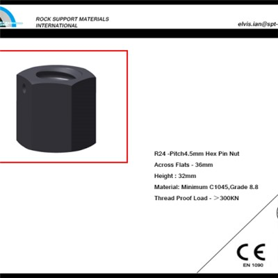 Hex Steel High Pin Nut