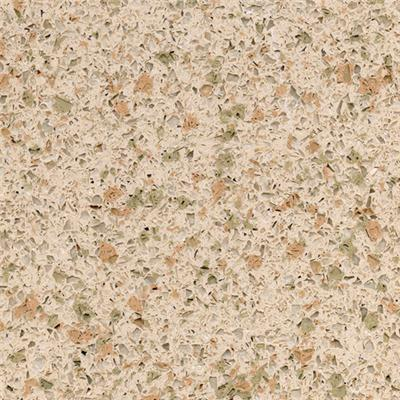 SS5202 Pine Nut Yellow Color Quartz Countertops Synthetic Stone Countertops