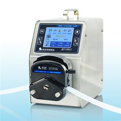 Touch Screen Display Laboratory Peristaltic Pump BT100LC