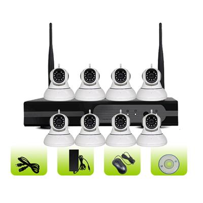 SK08W-10RA Support Onvif P2p Remote Control Wireless Camera Surveillance System