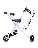 aluminum alloy baby stroller baby pushchair tricycle 3 in 1