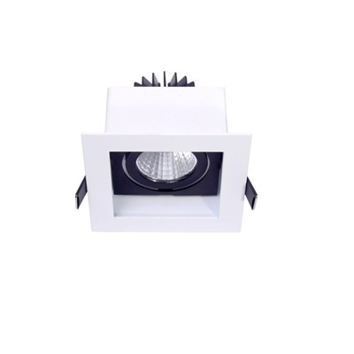9W LED Down Light With Reflector Distribution High CRI (Ra>90) COB  LED