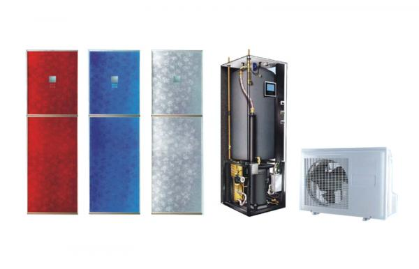 Air source heat pump all in one type