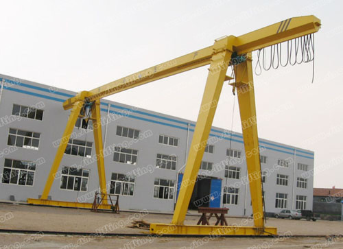 10 ton single girder gantry crane