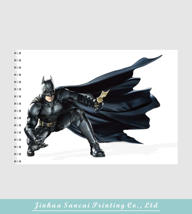printed batman cartoon book