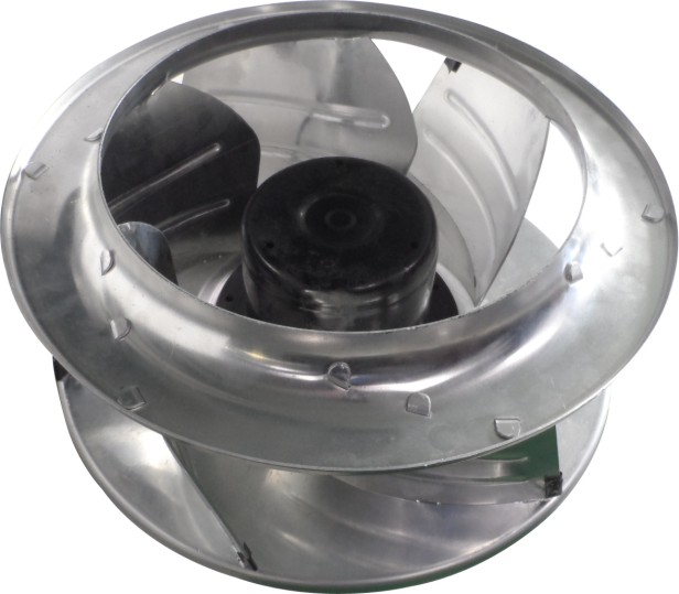 400mm 48v backward curved ventilation exhaust centrifugal fan