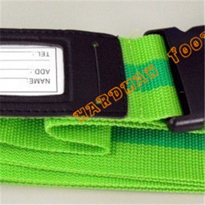 Airport Flat Luggage Belt Bungee Cord Luggage Strap with Safety Buckle