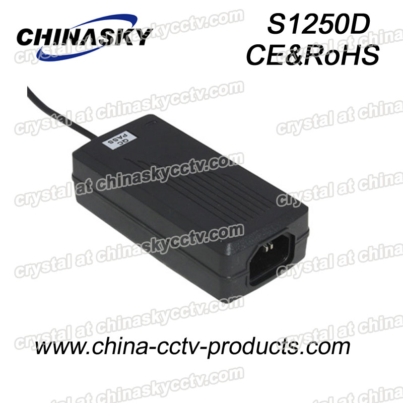 Desktop Type CCTV Camera Power Supply S1250D
