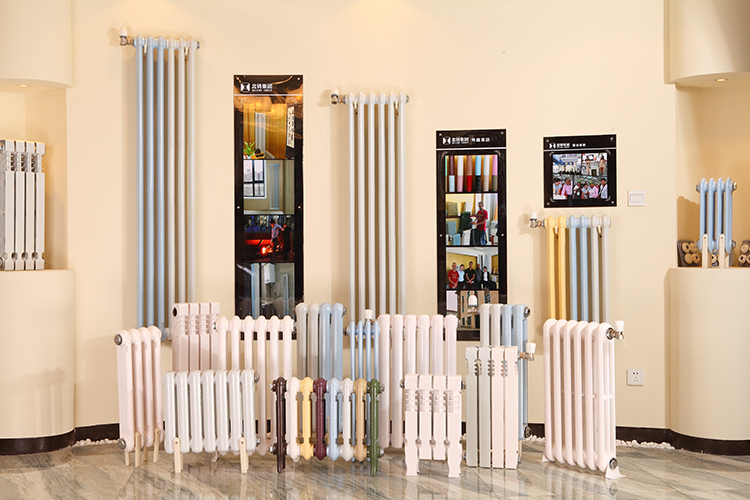 central heating two column cast iron radiators JingFeng