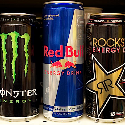 Monster Energy Drink and other soft drinks