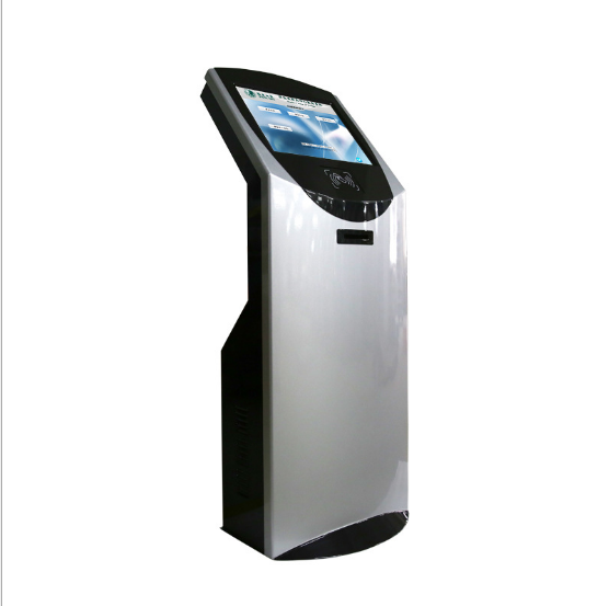 Self-service Terminal Kiosk/Wifi Touch Screen Kiosk with Printe