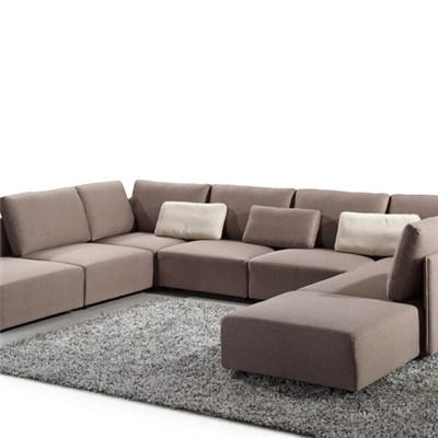 9142 Free Combination Fabric Sofa Bed
