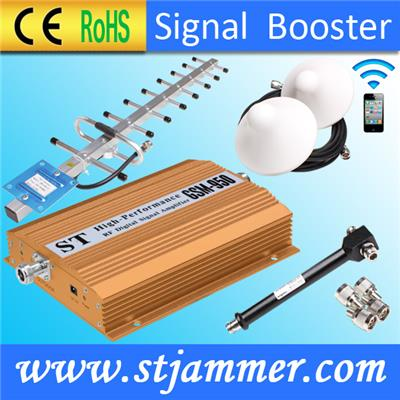 China Guangdong Sunhans 900 /2100MHz dual band mobile signal booster gsm 980