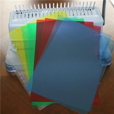 China Transparent PVC Book Cover