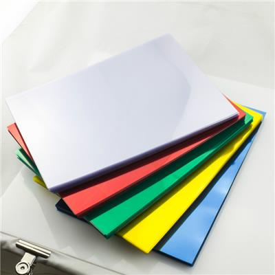 PVC Binding Cover In Various Colors